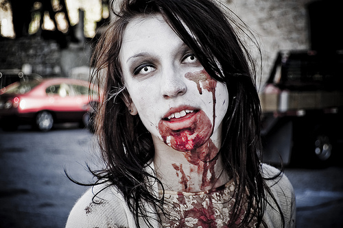 Image result for zombie cosplay