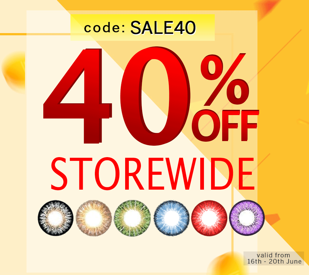 40% discounts on all lenses