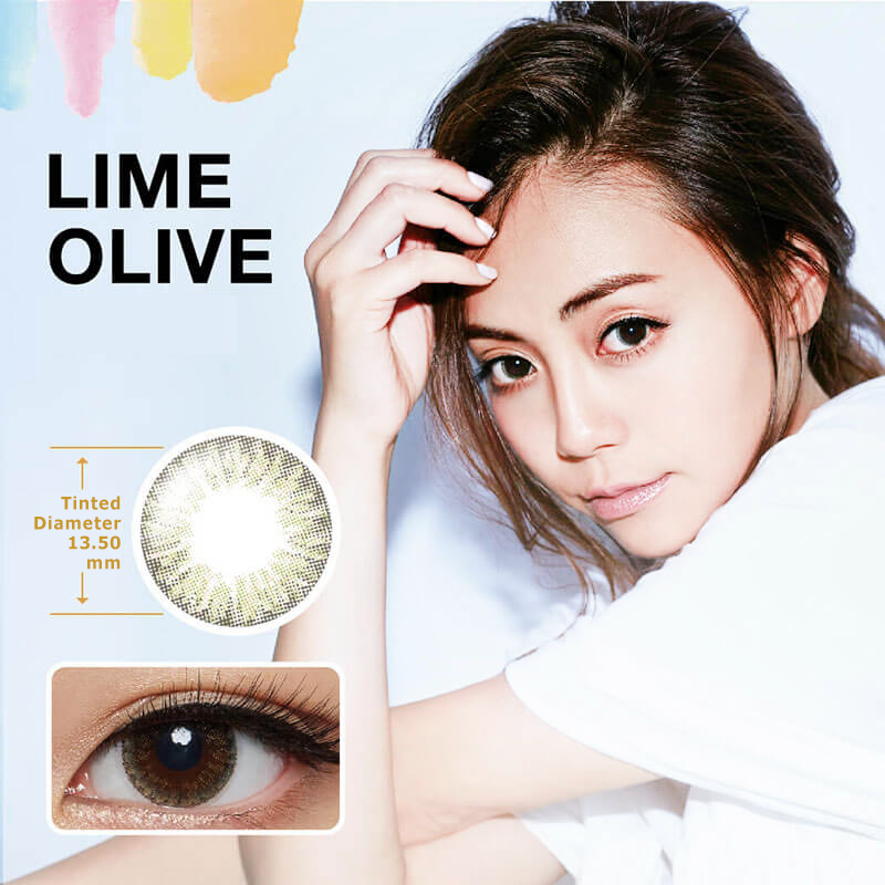 Fairy Monthly Select Lime Olive Lens