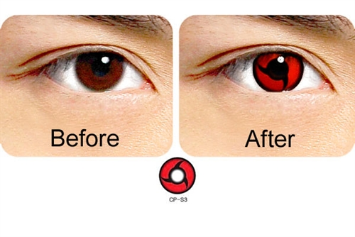 Itachi Mangekyou Sharingan Contacts - Geo Animation CP-S4