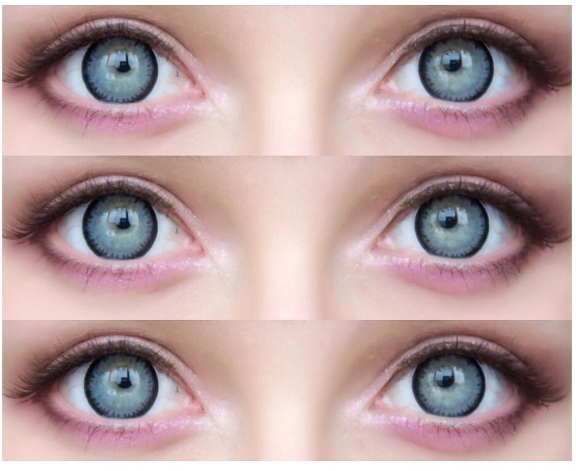 ICK Pearl Grey in light green eye color