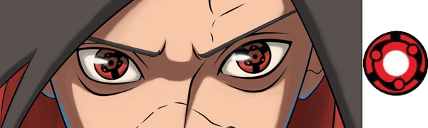 Naruto Madara Uchiha Eternal Mangekyo Sharingan Contact Lenses