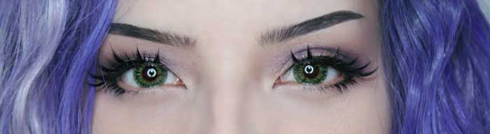 buy geolica euro lady lime green color lens online