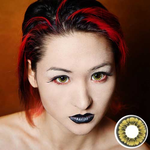 buy ifairy Tofi Gold circle lens colored contacts