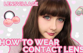 how to wear circle lens