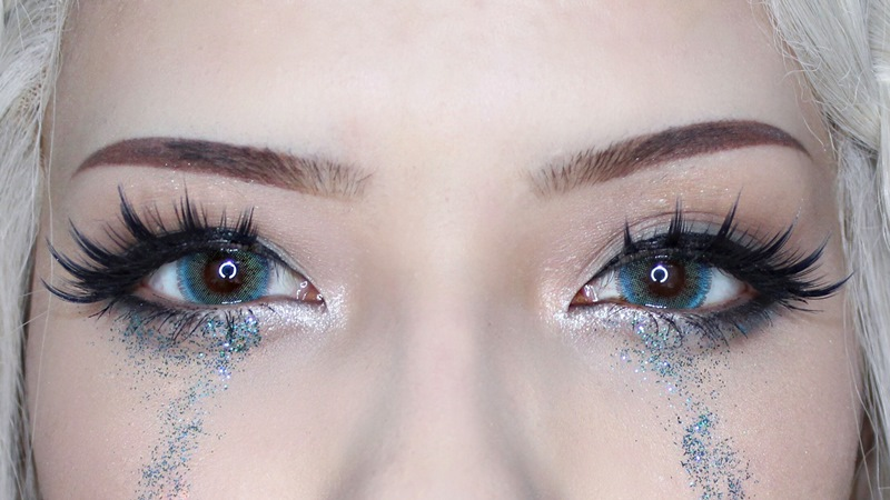 ifairy nobluk aqua contact lens close up photo