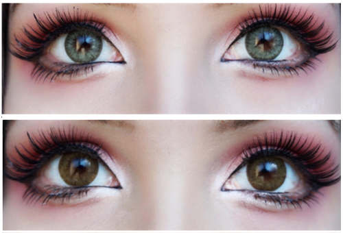 ifairy pony grey green and ifairy pony allure brown lens