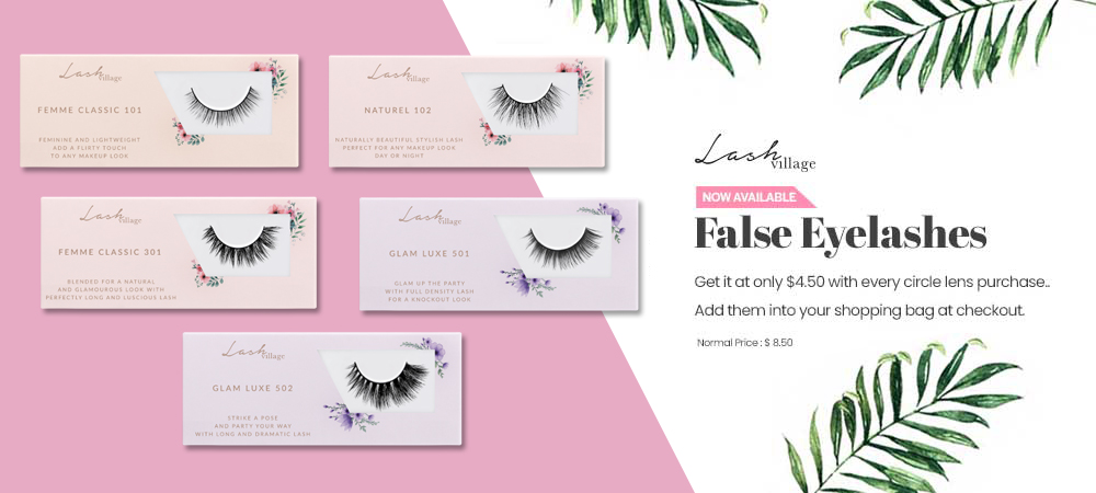 LashVillage False Eyelashes for usd4.50