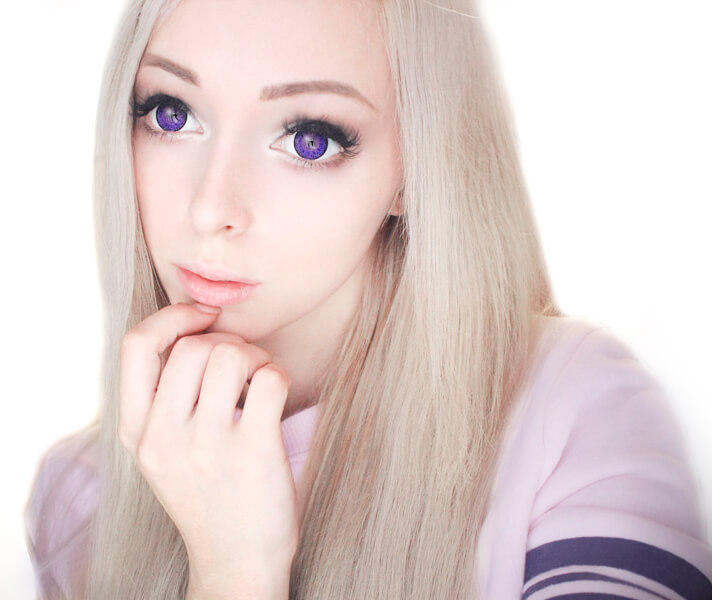 Dollyeye Super Doll Violet