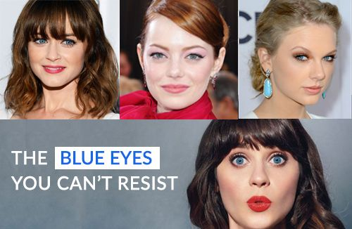 The Blue Color Contact Lenses You Should Try Once