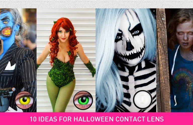 10 Halloween Contact Lenses Ideas in 2016