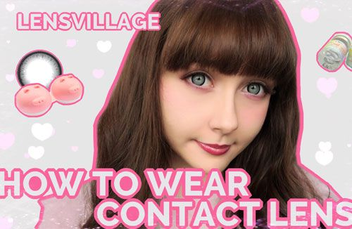 [1 min video] Learn how to use contacts like you have worn them for years