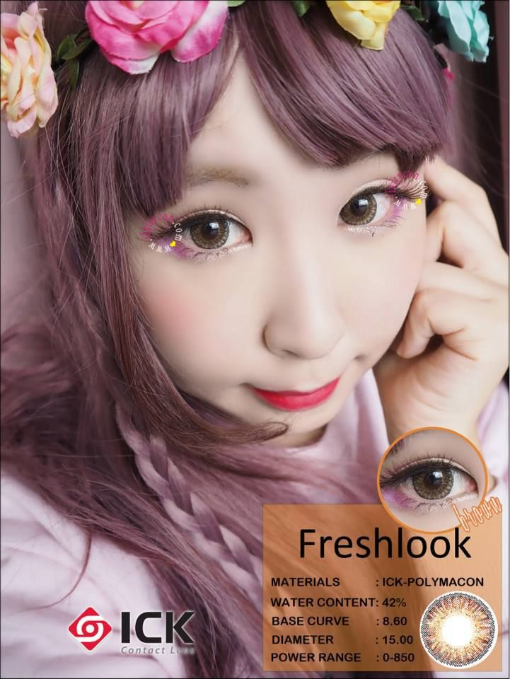 ICK Freshlook Brown Lens