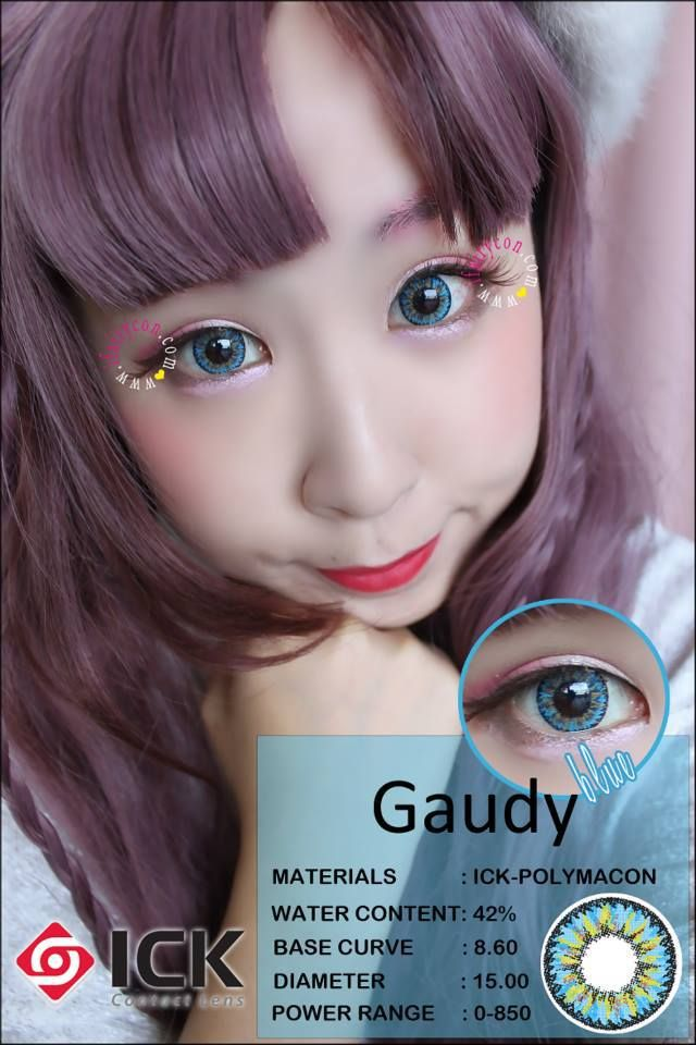 ICK Gaudy Blue Lens
