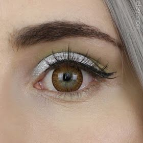 iFairy Poppy Brown colored lenses