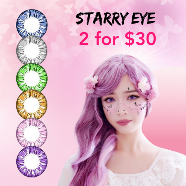Starry Eye - 2 pairs for $30