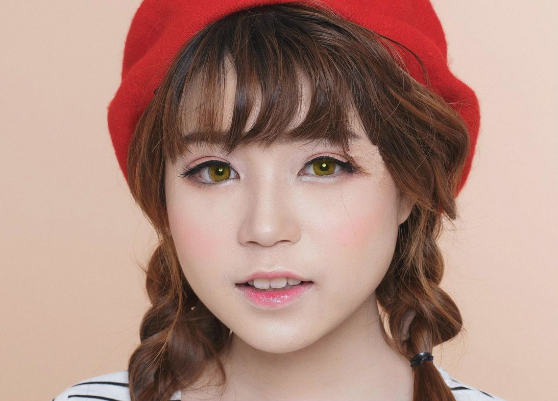 i.Fairy Nobluk Brown Circle Lens & Colored Contacts
