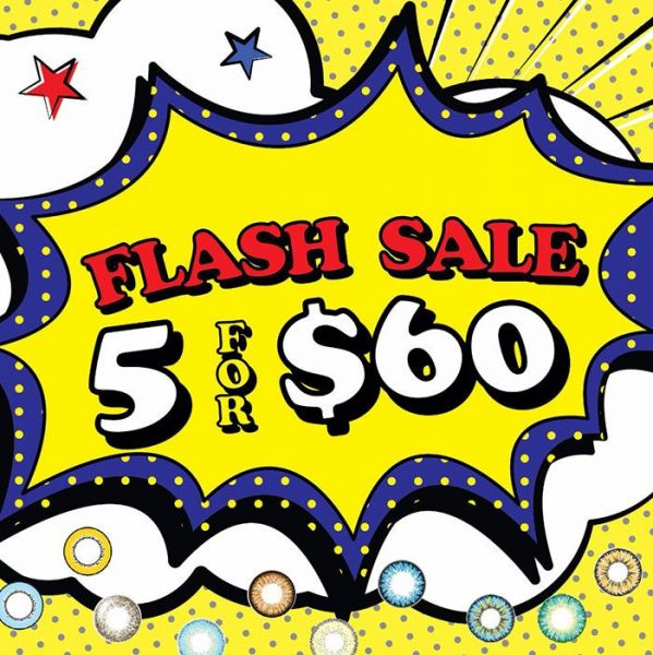 Flash Sale- 5 Pairs for $60