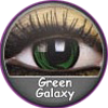 ColourVue Crazy Green Galaxy Lens
