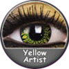 ColourVue Crazy Yellow Artist Lens