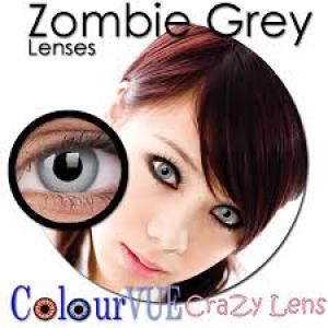 ColourVue Crazy Zombie Grey Lens