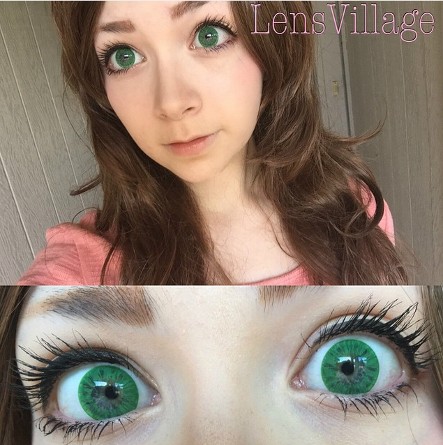 Starry Eye Green Lens