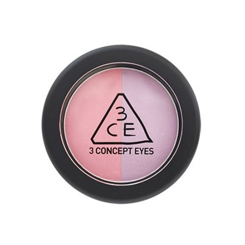 3CE DUO COLOR FACE BLUSH CREME DE VIOLETTE