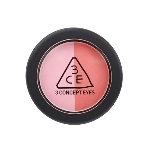 3CE DUO COLOR FACE BLUSH MAKE ME BLUSH