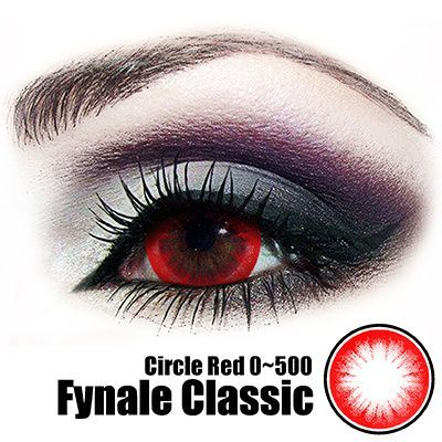 Fynale Circle Red Lens