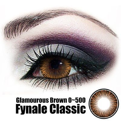 Fynale Glamourous Brown Lens