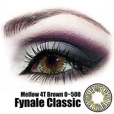 Fynale Mellow 4 Tones Brown Lens