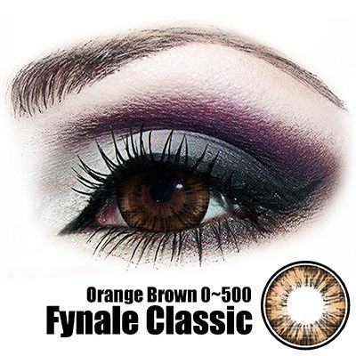 Fynale Orange Brown Lens
