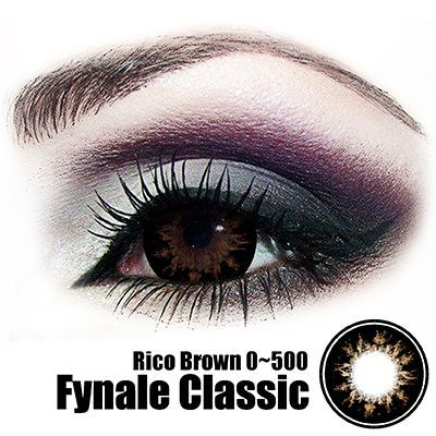 Fynale Rico Brown Lens