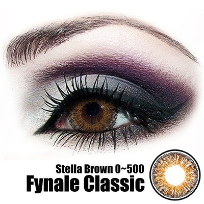 Fynale Stella Brown Lens