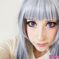 EOS New Adult Violet Lenses (same as Blytheye Violet)